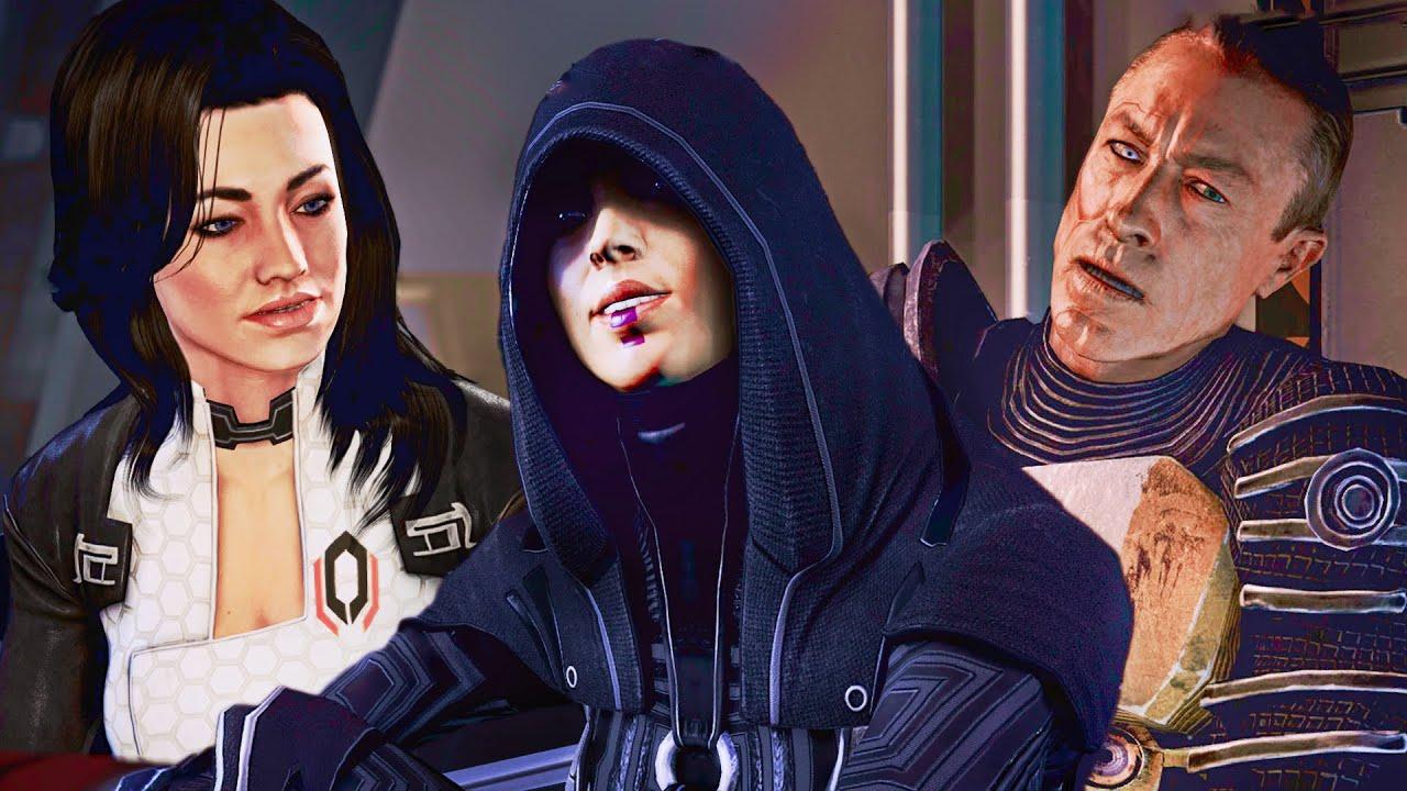 Mass Effect 2 Legendary Edition 20: EDI, Kelly, Miranda, Kasumi & Zaeed, Normandy
