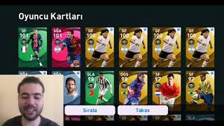İLK ABONEME ICON ALIP FULLÜYORUM (MESSİ , RONALDO , RASHFORD) Pes 2021 Mobile