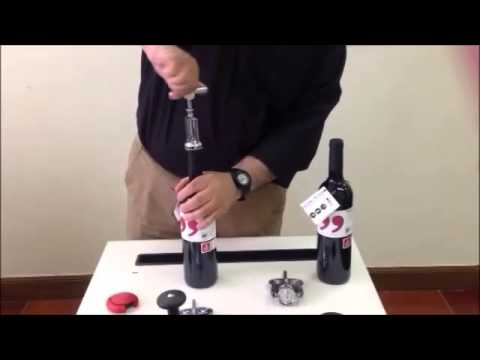 How To Use The Boj Chrome Plated Cellar Type Cork