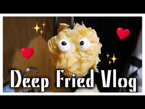EKEE - Deep Fried Food VLOG//伊維特