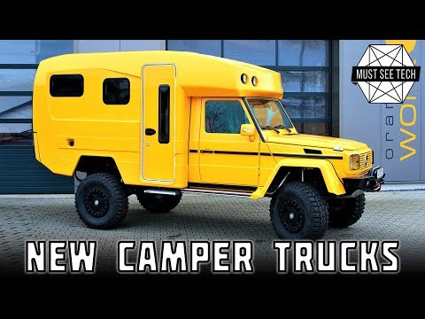Top 7 C ing Trucks and Impressive 4x4 SUVs with Roof Top Tents