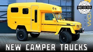 Top 7 Camping Trucks and Impressive 4x4 SUVs with Roof Top Tents