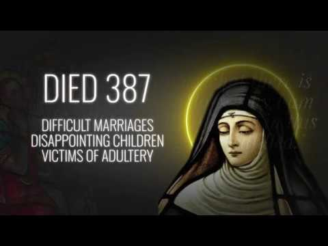 Saint of the Day — Monica— August 27th