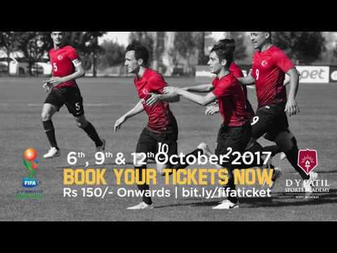 D Y Patil Sports Stadium:  Team Turkey is all set to fight it out in FIFA U-17 World Cup 2017