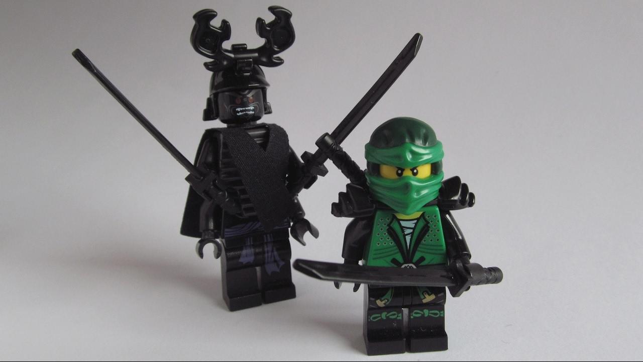 lego ninjago movie custom lloyd  garmadon  youtube