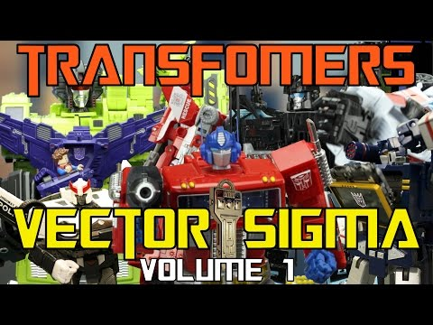 Transformers: Vector Sigma - Volume 1: Key to the City - Transformers Stop Motion Series!