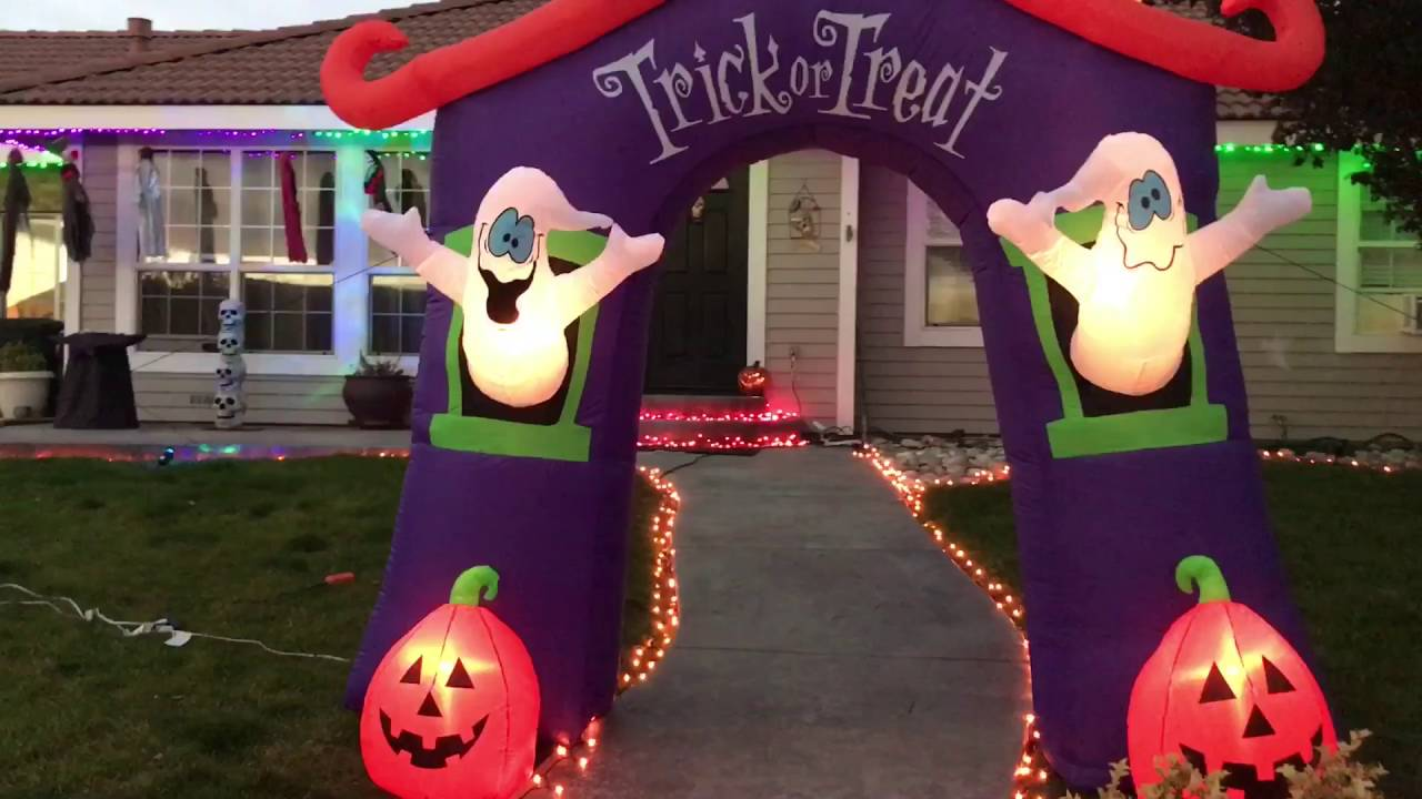 my halloween decorations for 2016