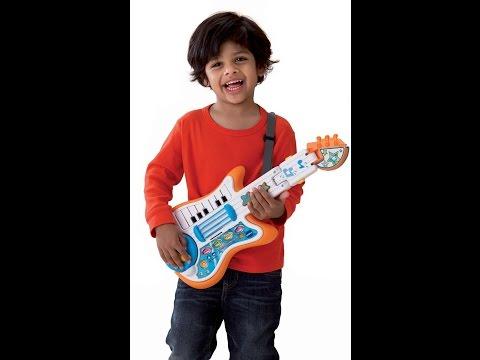 Review:  VTech Strum and Jam Kidi Musical Guitar Band