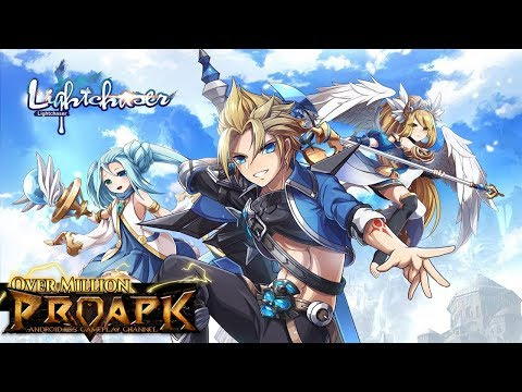Light Chaser Android Gameplay (Open World MMORPG)