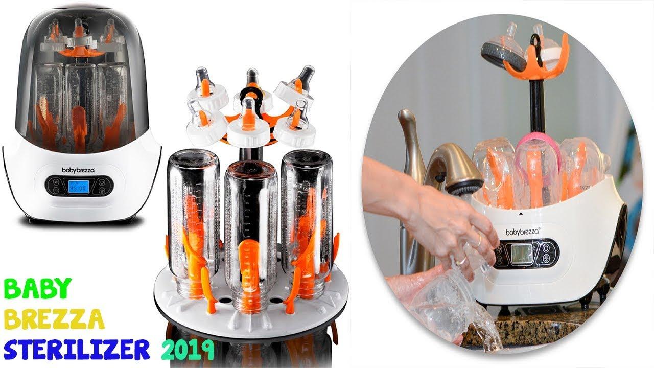 Steam Steriliz Baby Brezza Electric Baby Bottle Sterilizer and Dryer Machine