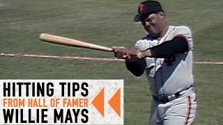Giants rewind: willie mays hitting tips