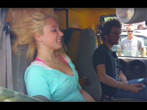 My daughters 20,000 watt hair trick bass demo from Exocontralto ( EXO ) in his Frankenstein