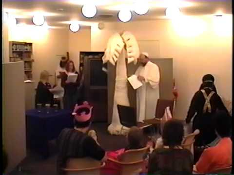 Temple Israel Of London Purim Play - March 1995