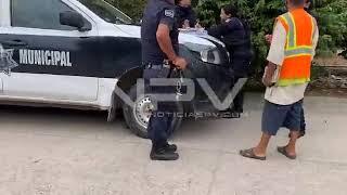Reporte de un Jeep, que habían robado