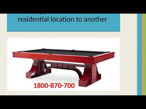 Pool Table Removals Melbourne | Packers And Movers Melbourne