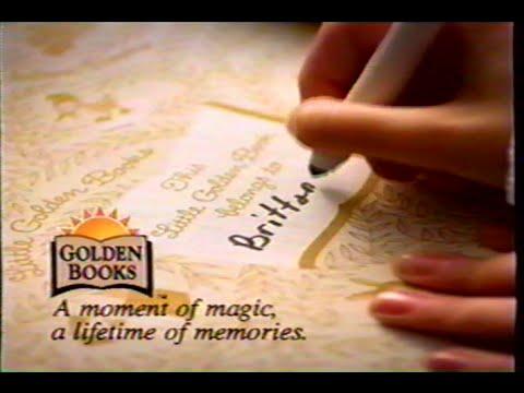 Golden Books (1996) Promo (VHS Capture)