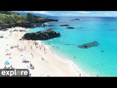 Pacific Ocean Drone Footage - Hawaiian Islands