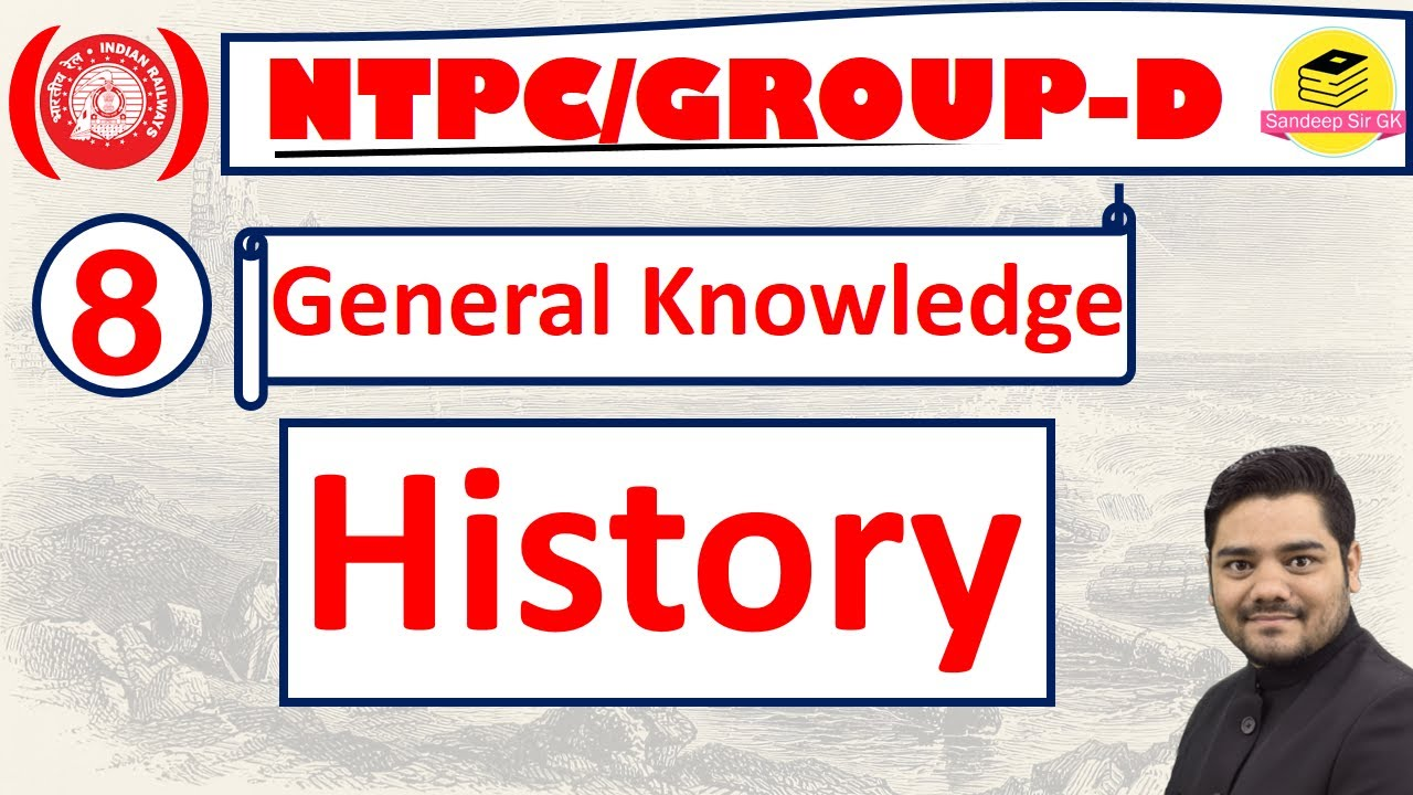 History imp questions for RRB/NTPC Group-D Exam