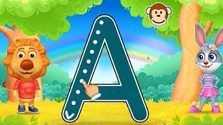 Abecedario en español para niños 🅰🅱 Letras Mayúsculas | Juegos y Juguetes de Coco