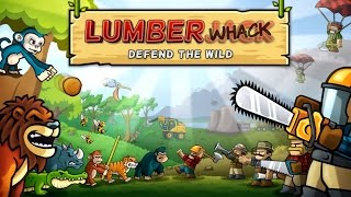 Lumberwhack: Defend the Wild TD - Tower & Castle Defense - By Koloss Interactive- Facebook GamePlay