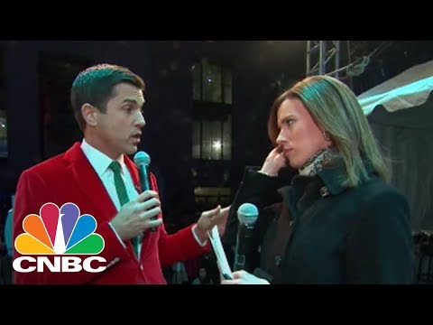NYSE Talks Bitcoin And Lights Up The Christmas Tree | CNBC