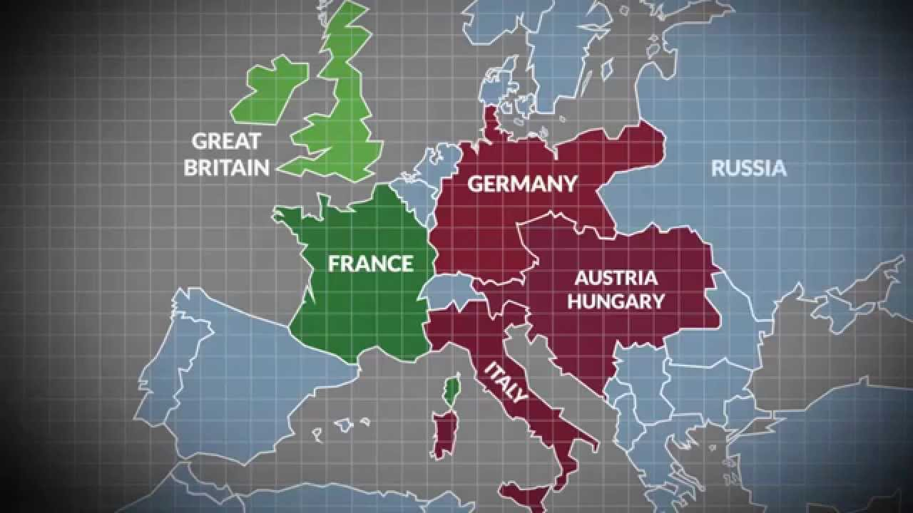 5 Major Treaties & Alliances in the Build Up to World War One - YouTube