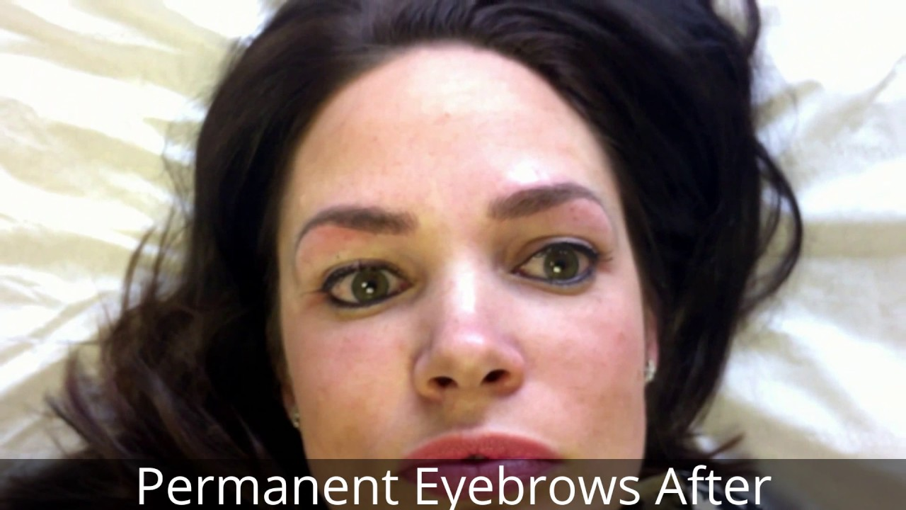 3D Hair Stroke Permanent Eyebrows - End Result   Emma Hall ...