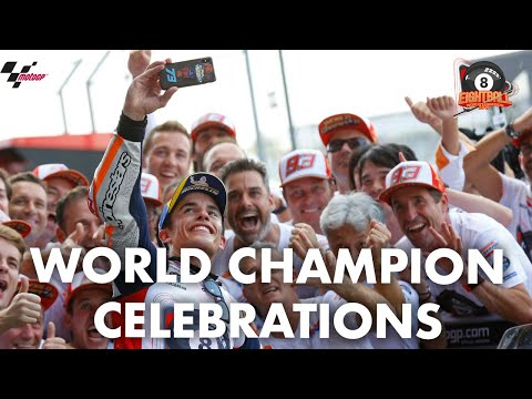 The winning overtake & World Title celebrations! | 2019 #ThaiGP
