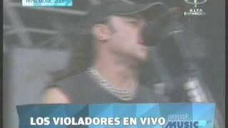 Pepsi Music 2009 - Los Violadores - Ellos Son + Mercado Indio