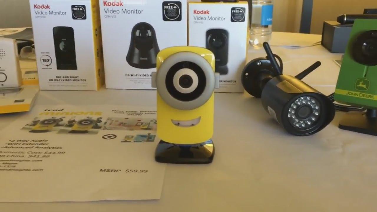 Minion Camera App : Supplier showcase: tend insights wireless hd cameras minions