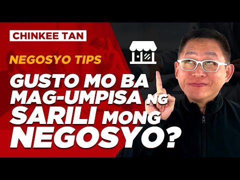 NEGOSYO TIPS: Gusto Mo Ba Mag-Umpisa Ng Sarili Mong Negosyo?