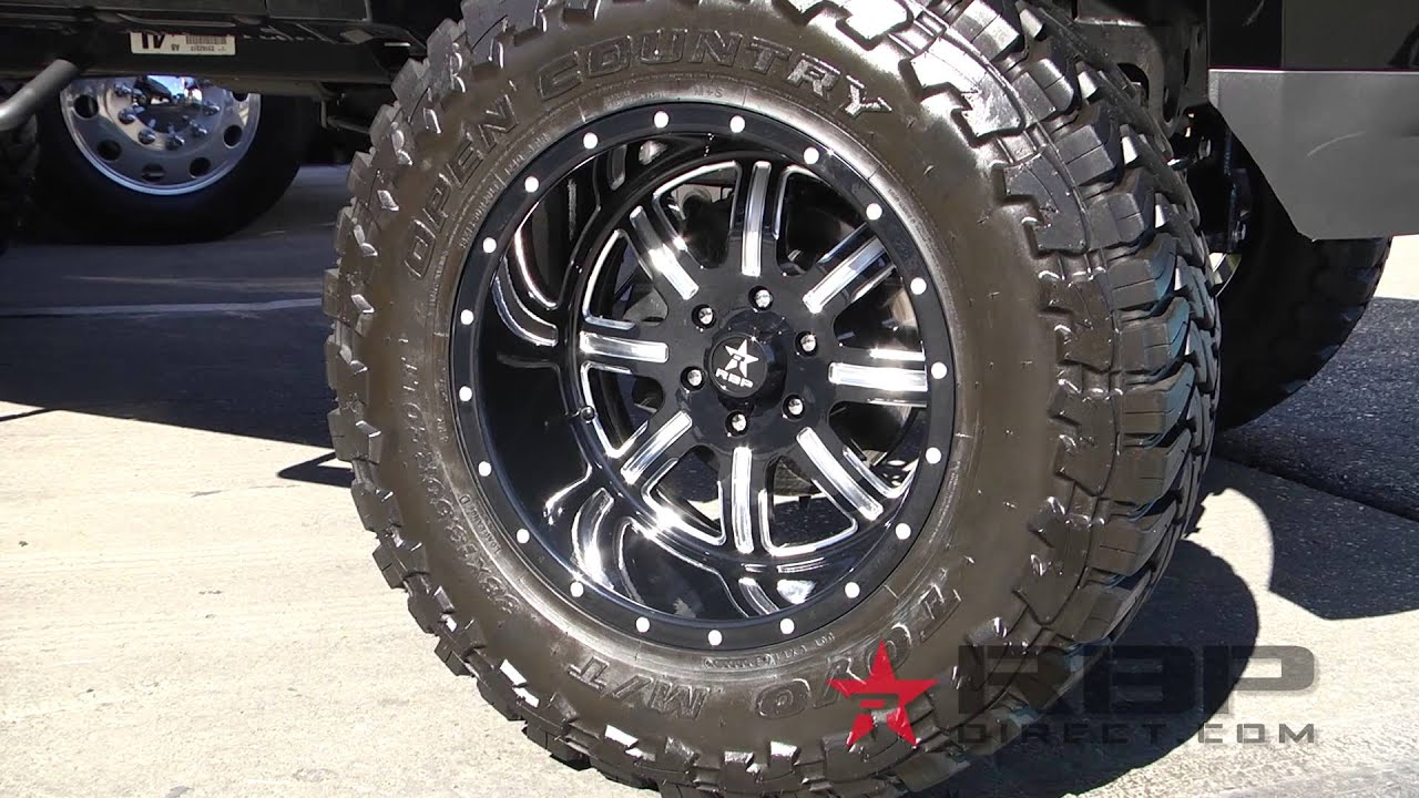Big Truck Tires >> Rolling Big Power RBP 94R Wheels Highlights - AutoCustoms.com - YouTube