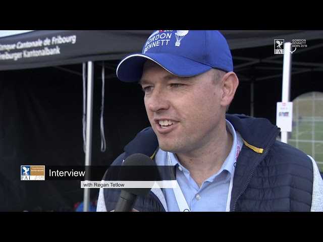REPLAY - Coupe Aéronautique Gordon Bennett 2018 - Interview Serge Collaud