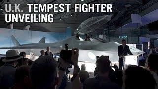 U.K.'s New Tempest Fighter Jet Revealed – AINtv Express