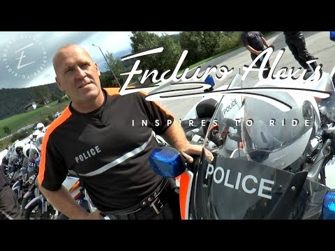 International Advanced Rider Training at the Salzburgring Racetrack Episode 5: The Luxembourg Police