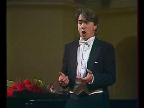 Hvorostovsky: Rachmaninoff recital 1990 7/12 In the silence of the night