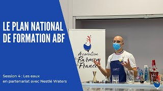 Association des Barmen de France - Plan National de Formation 2021 : 4e session avec Nestlé Waters !