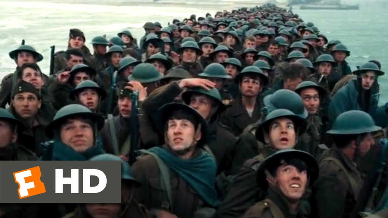 Dunkirk (2017) - Sinking the Medical Ship Scene (3/10) | Movieclips