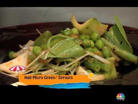 CONJURING A MONSTER SALAD WITH VICKY RATNANI ON WEEKENDER, CNBC-TV18