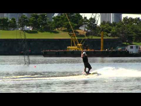 CABLE WAKEBOARD in TOKYO ODAIBA 08/2012 001