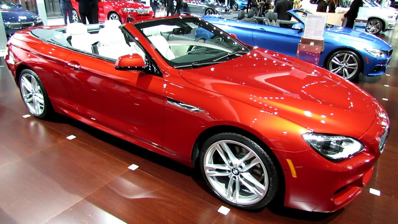 2014 Bmw 650i Xdrive Convertible Exterior And Interior