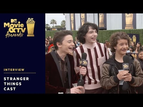 'Stranger Things' Cast send Get Well Wishes to Millie Bobby Brown   2018 MTV Movie & TV Awards thumbnail