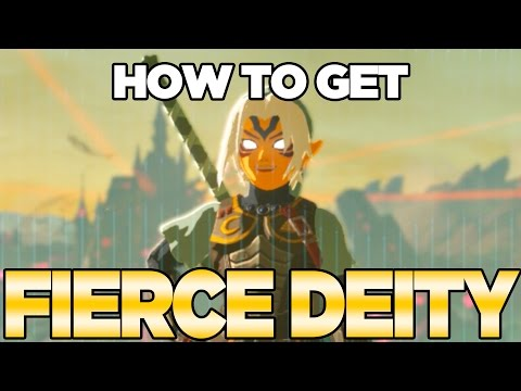 How To Get Fierce Deity Mask, Armor & Sword In Breath Of The Wild With NFC Tags | Austin John Plays