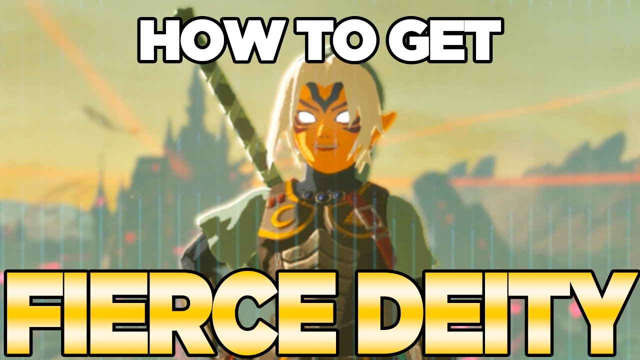 How to Get Fierce Deity Mask, Armor & Sword in Breath of the Wild with NFC tags   Austin John Pl