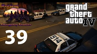 GTA IV | WCES Patrol #39 - Known Gang Member & New Mods!