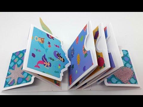 Alinacutle DT Projects Tutorial - MINI ALBUM #paper flower#alinacraft #aliexpress