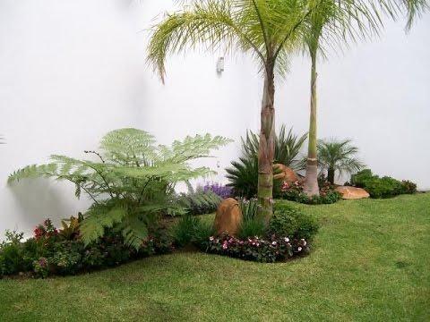 Como hacer jardines peque os youtube for Arbustos jardin pequeno