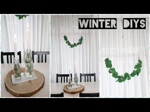 DIY WINTER DEKO 2019 | Pinterest Ideen