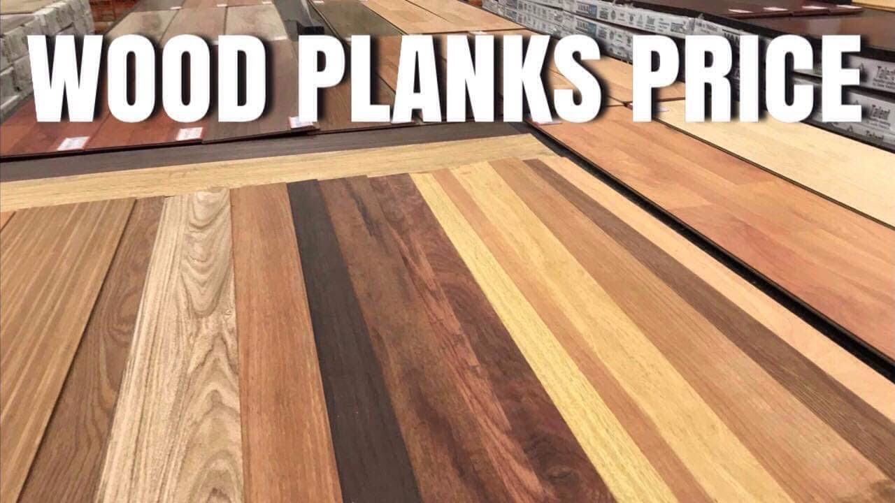 Wood Planks Price In The Philippines Youtube
