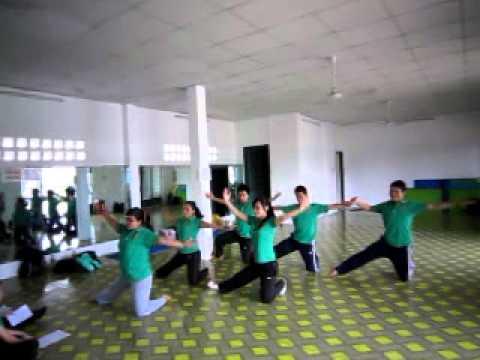 Lớp hướng dẫn viên aerobic mầm non (nhóm 4)